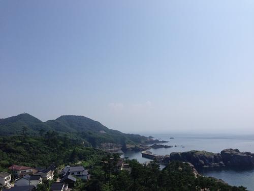 日御碕灯台からの景色2