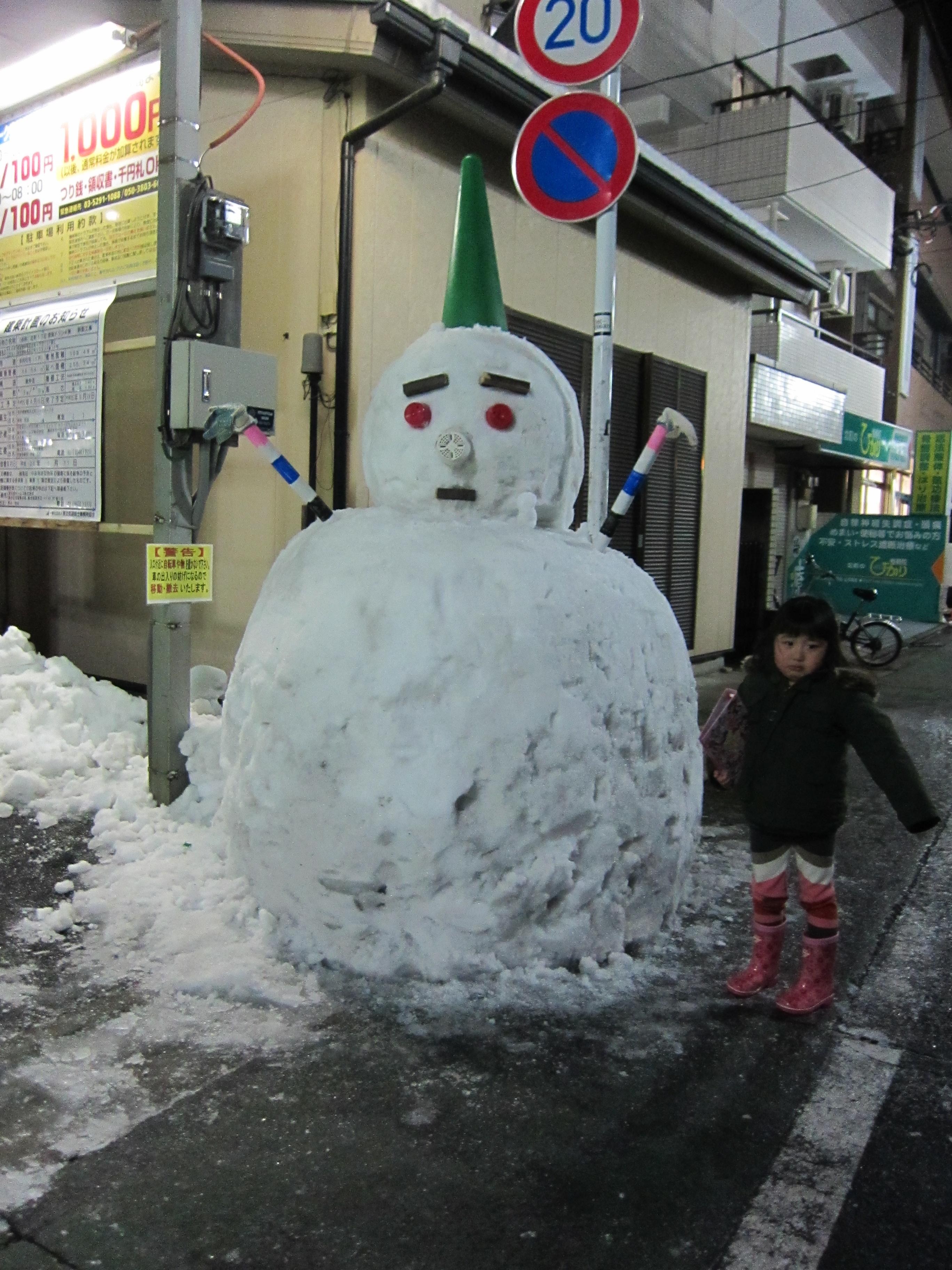 雪だるま デカイ