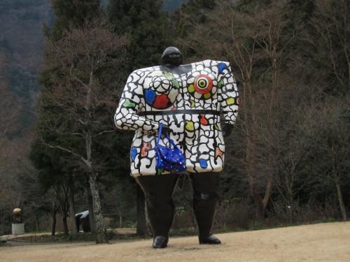 園山恭平 彫刻の森美術館にて05