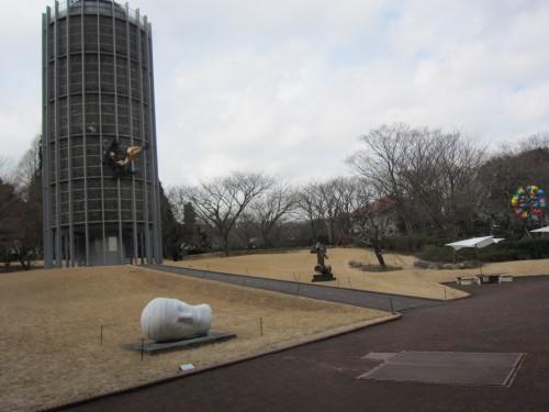 園山恭平 彫刻の森美術館にて04