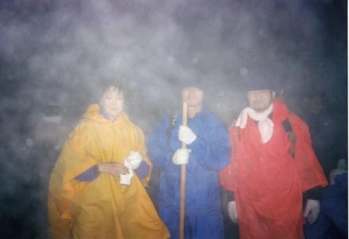 ポー 富士山