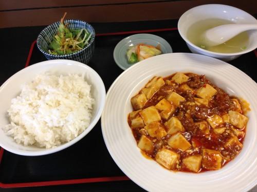 あむ亭 麻婆豆腐定食 東武練馬
