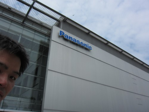 パナソニックセンターにて ポー