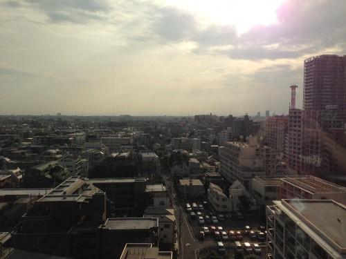 練馬区区役所10階からの景色