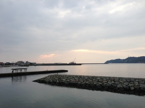 島根県出雲市平田の海