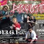 DISGUSTIES(栃木バンド)メンバーママチャリで宇都宮からスカイツリー【リスペクト】