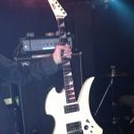 WORMS'MEATライブを中野MOON STEPでESPカスタムギター(懐かしオールド)