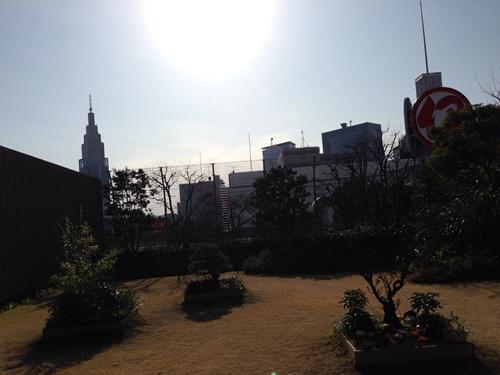 新宿伊勢丹屋上庭園2