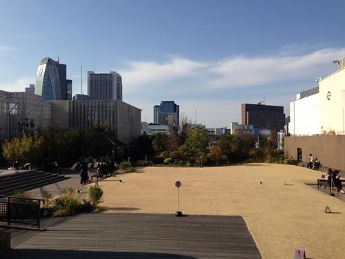 新宿伊勢丹屋上庭園1