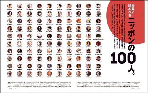 世界に誇るべき100人