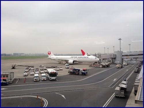 羽田空港より