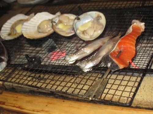 ランプ亭の魚