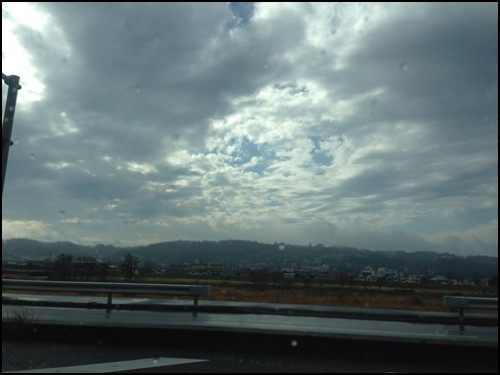 観音山の景色