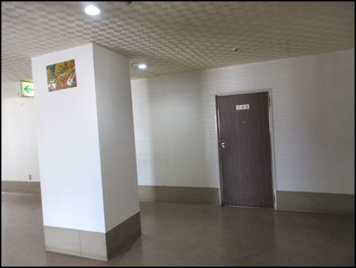ホテルニューおおるり廊下