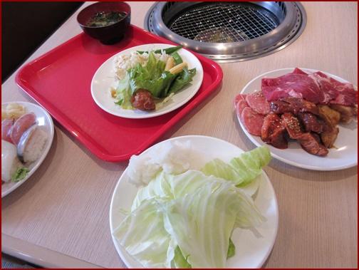 すたみな太郎料理アップ